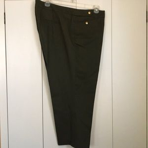 Talbots Ankle Pants 18W   NWT
